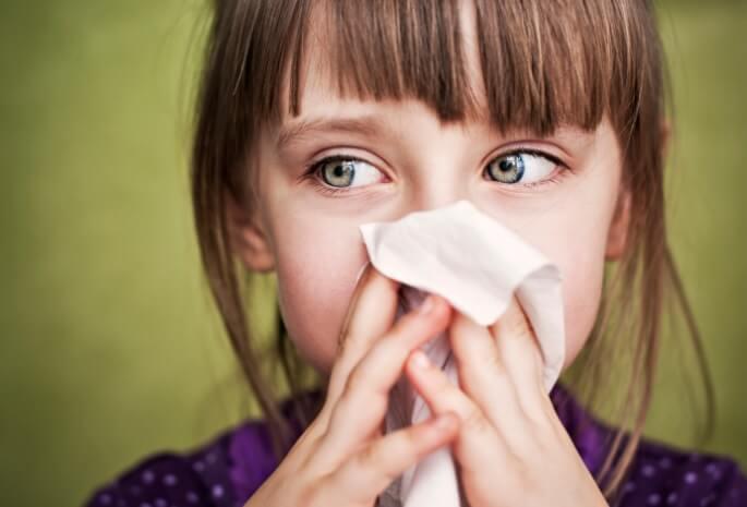 Çocuklarda Alerjik Nezle ve Tedavisi