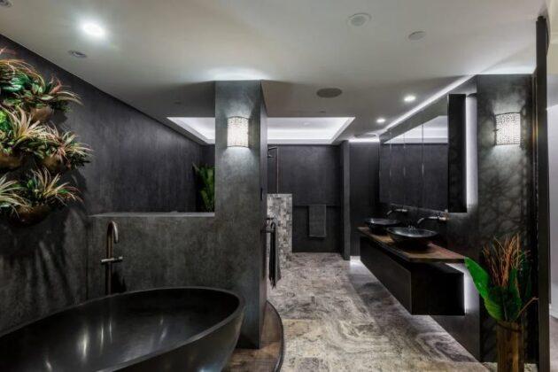 Büyük Banyo Dekorasyonu