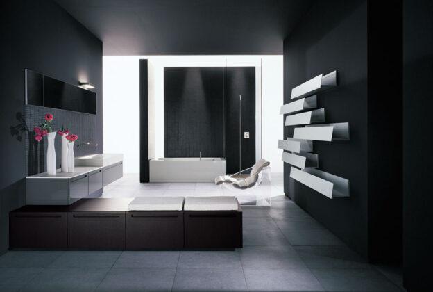 Banyo Raf Dekorasyon Örneği